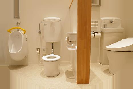 親子トイレ